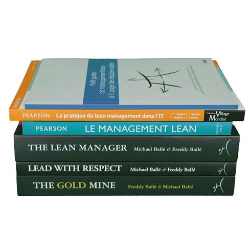 Livres sur le Lean
